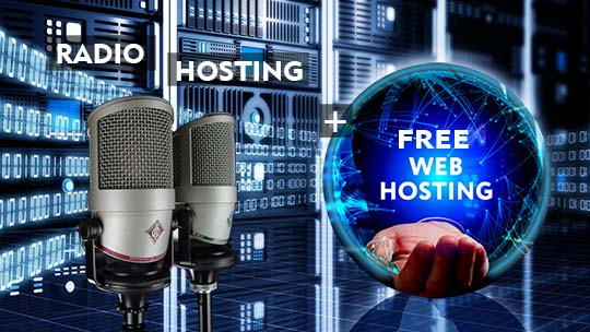 Radio Hosting with Free Web Hosting