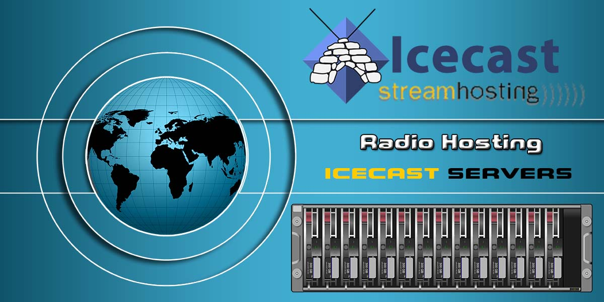 Radio Hosting Icecast Servers