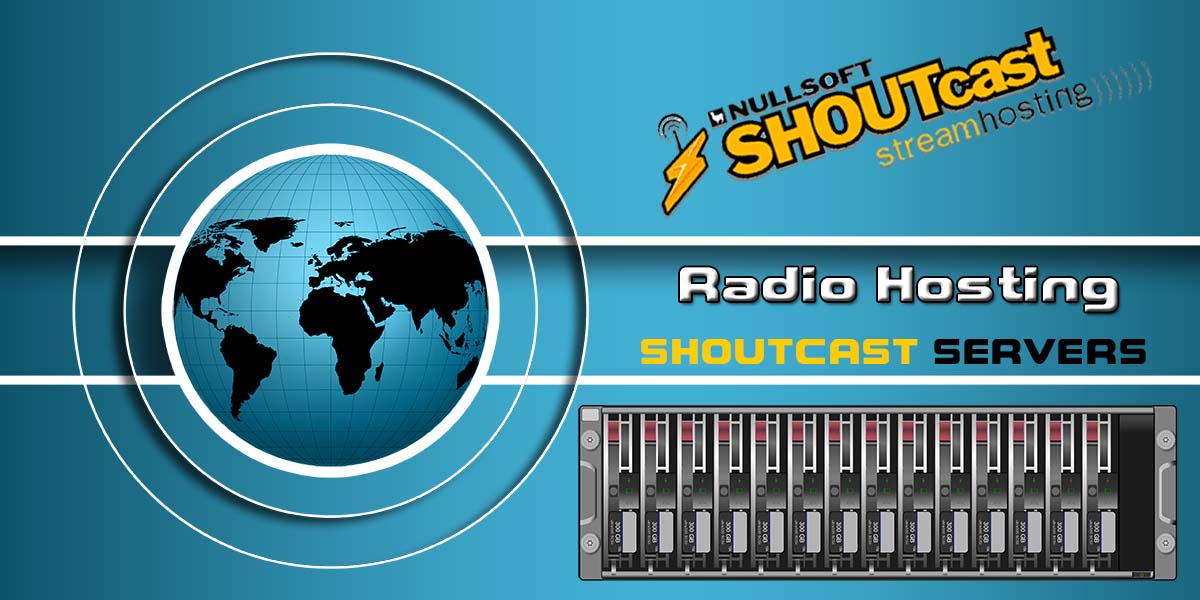 Radio Hosting Shoutcast Servers